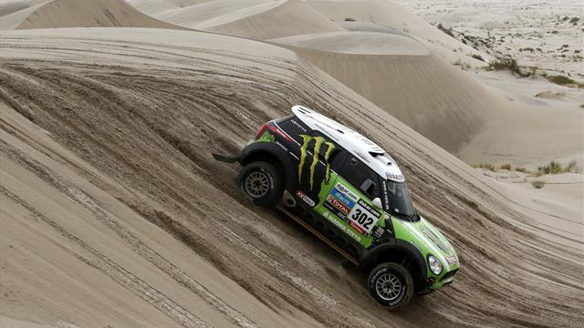 Dakar - Cars: Peterhansel retains control as racing resumes