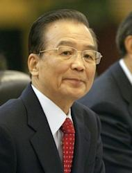 Chinese Prime Minister Wen Jiabao, pictured on February 8. An 18-year-old nun set herself on fire in China's restive southwest and later died, rights groups have said, the latest in a spate of such incidents among ethnic Tibetans protesting Beijing's rule