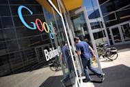 """The Google headquarters in Mountain View, California. Jurors were unable to decide on a key point of whether Google's use of copyrighted Java software was """"fair use"""" that made it acceptable"""