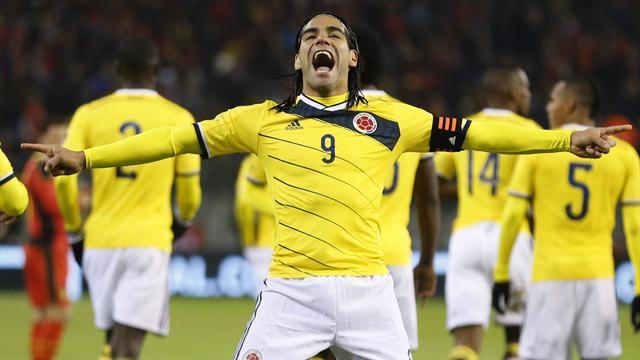 World Cup - Injured Falcao included in Colombia's 30-man squad