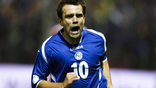 World Cup - Bosnia without injured pair in Latvia qualifier