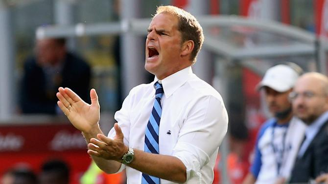 De Boer accepts Inter criticism