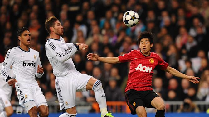 Real Madrid v Manchester United - UEFA Champions League Round of 16