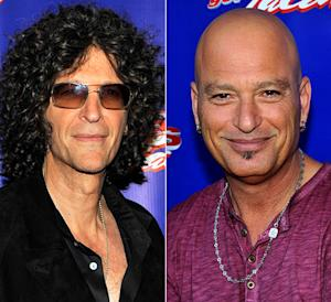 Howard Stern Feuds with Howie Mandel on America's Got Talent