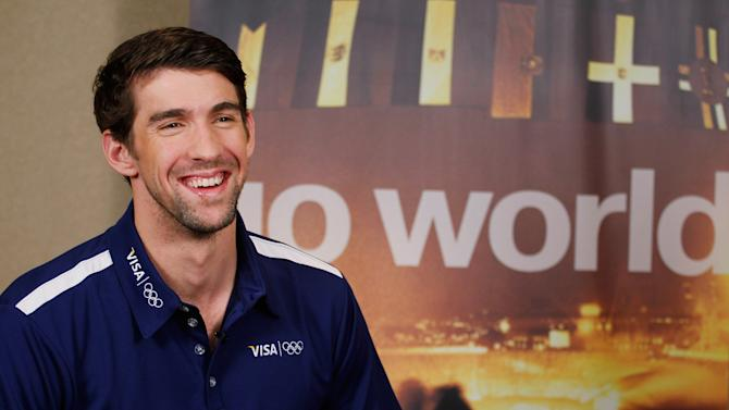 Visa Launches Go World With Michael Phelps