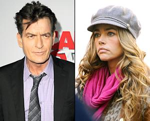 Charlie Sheen Slams Denise Richards, Chops Up Wedding Souvenir: Picture