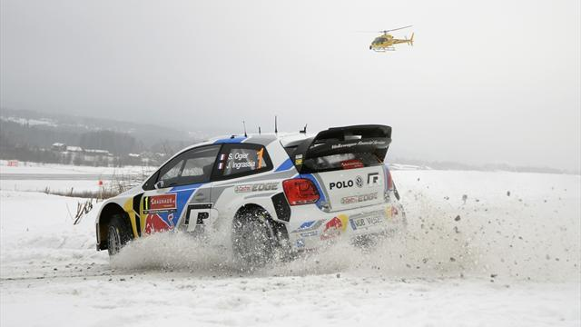 WRC - Ogier loses rally lead with 'stupid mistake'