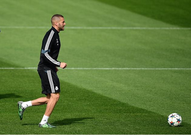 Karim Benzema hasn't travelled with the rest of the Real Madrid squad for the first-leg of their Champions League semi-final away to Juventus