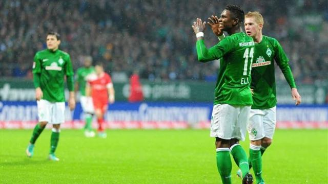 German Bundesliga  - Bremen seal comeback win