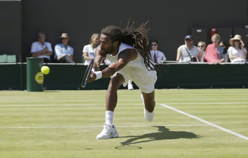 Dustin Brown loses at Wimbledon 2 days after beating Nadal