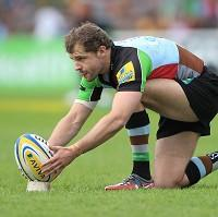Nick Evans kicked 13 points for Harlequins