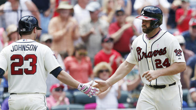 Gattis, Heyward HRs give Braves 5-2 win over Cubs