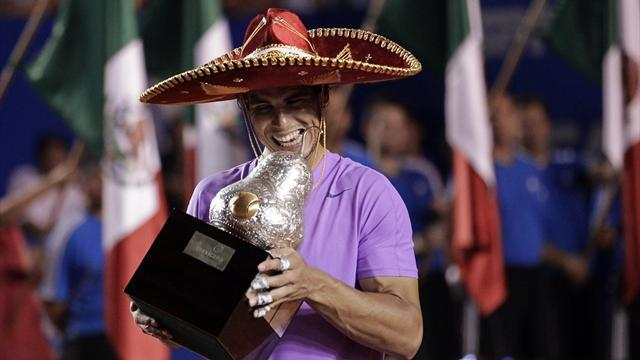 Tennis - Nadal crushes Ferrer to win Mexican Open