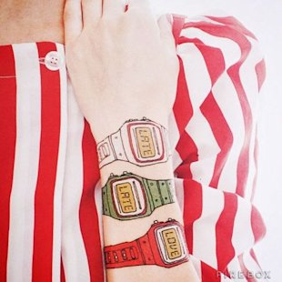 Temporary Watch Tattoos; courtesy of Firebox
