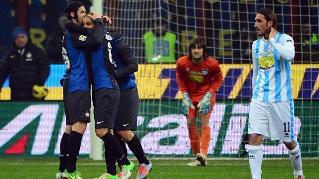 Serie A - Easy for Inter at home to Pescara