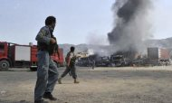 Afghanistan: Taliban Attack US Military Base