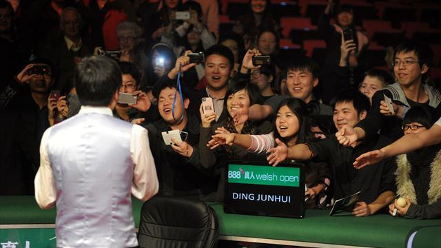 Snooker - Ding: Give Chinese stars time