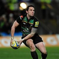 Ryan Lamb made three conversions for Northampton, while also kicking a penalty and a drop goal