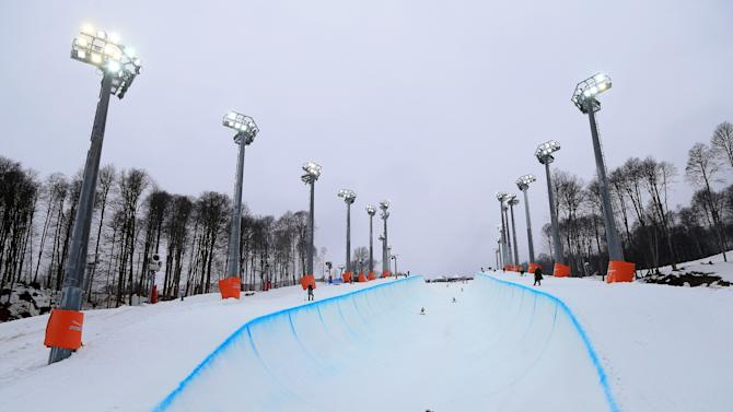 Sochi Winter Olympics - Test Events