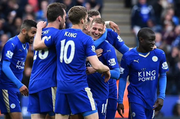 Leicester, the 5,000-1 outsiders, will be champions for the first time in their 132-year history if they prevail at the home of United