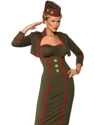 Retro Army Dress