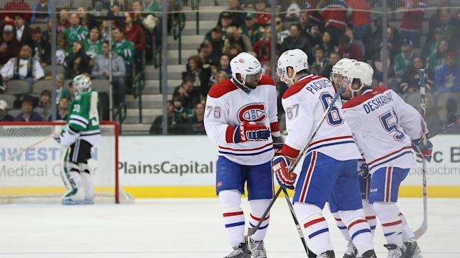 Montreal Canadiens v Dallas Stars