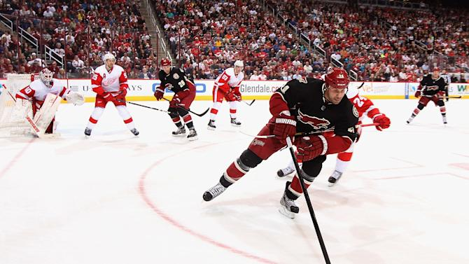 Detroit Red Wings v Phoenix Coyotes