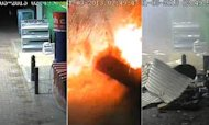 Cashpoint Explosion: CCTV Of Thieves' Attack