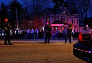 Cambridge, Watertown Massive Police Response   Photo Credits: Jared Wickerham/Getty Images