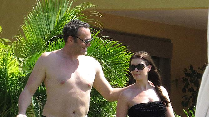 *EXCLUSIVE* Vince Vaughn and Family soak up the sun in Mexico