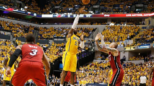 Basketball - George sparks Pacers to Game One win over Heat