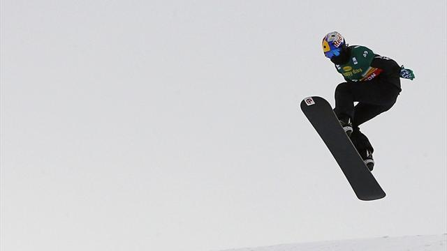 Snowboard - Pullin and Maltais take World Cup titles in Veysonnaz