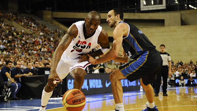 USA v Argentina - Men's Exhibition Game