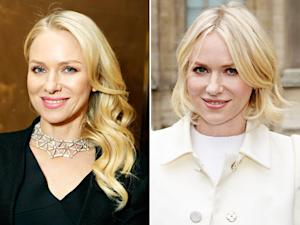 Naomi Watts Cuts Her Hair Into Chic Bob