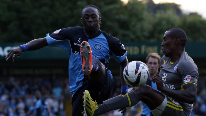 Soccer - Capital One Cup - First Round - Wycombe Wanderers v Leicester City - Adams Park