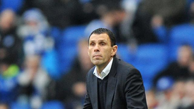 Football - Poyet wants Seagulls to kick on