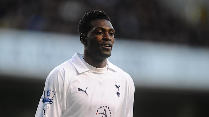 Emmanuel Adebayor has made his move to Tottenham permanent