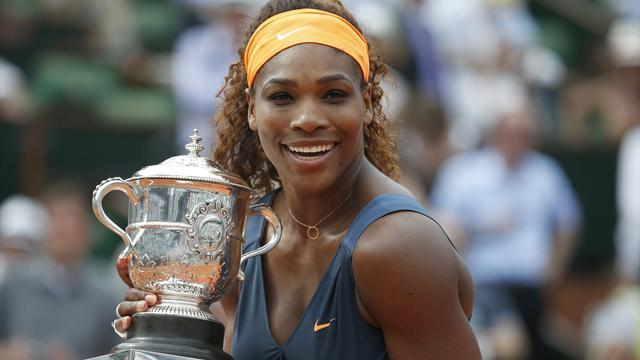Tennis - Top WTA award for Serena after staggering season