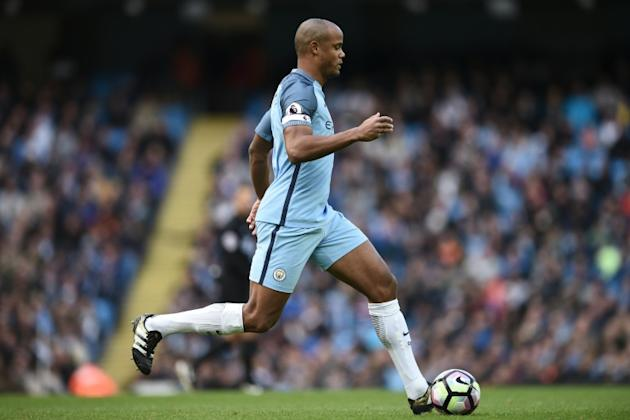 """Manchester City's defender Vincent Kompany said, """"It's just physically impossible for me to play down a derby"""""""