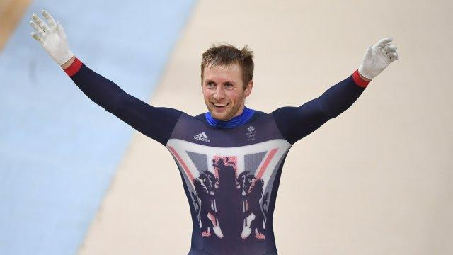 Rio 2016 Olympics: Jason Kenny wins sixth cycling gold medal to match Chris Hoy's British record