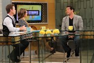Dean Cain chats with Billy Bush and Kit Hoover on Access Hollywood Live on August 28, 2012 -- Access Hollywood