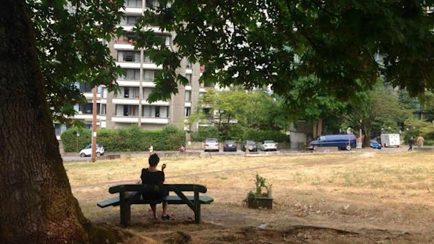 Vacant lot on Vancouver's Robson Street is decades-old $8.5M real estate mystery