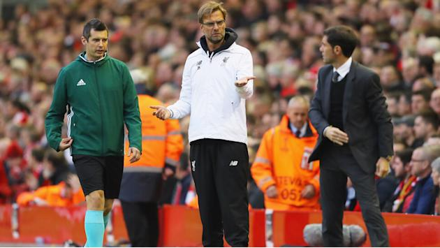Marcelino unimpressed by Klopp celebrations