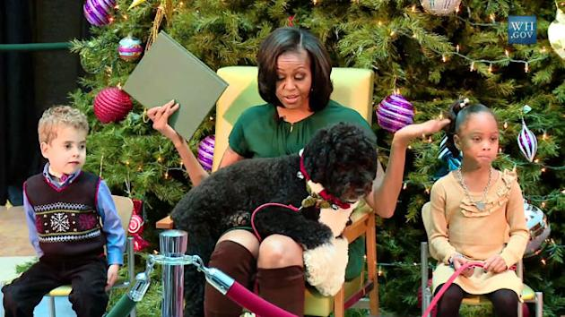 Bo Obama Upstages The First Lady