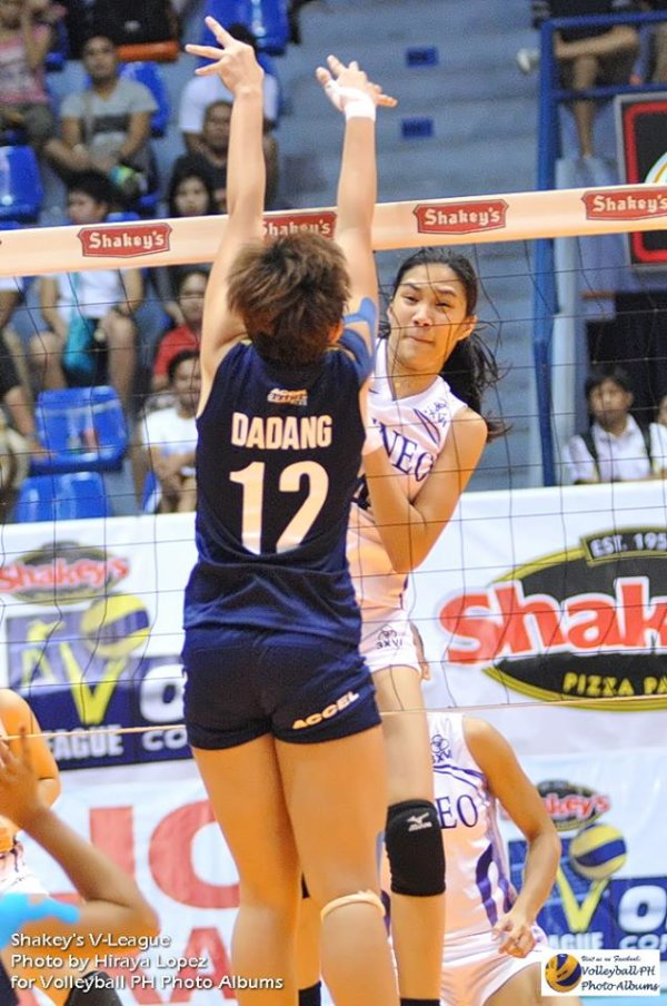 Shakey's V-League Open q'finals: Ateneo sweeps with ...