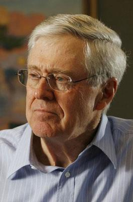 4. Charles Koch, Wichita, Kan., $31 billion