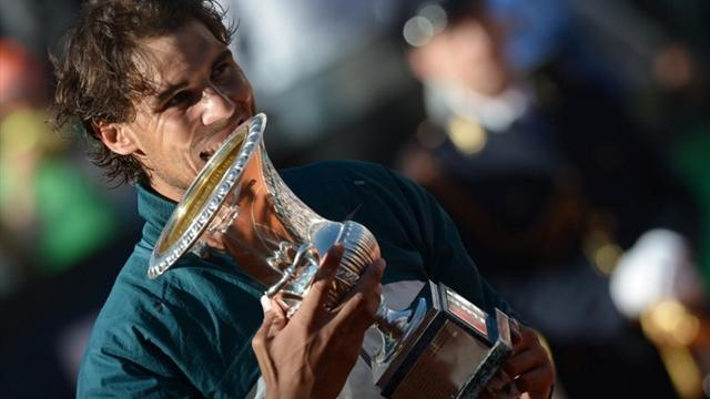 French Open - Nadal back in old routine and looking invincible