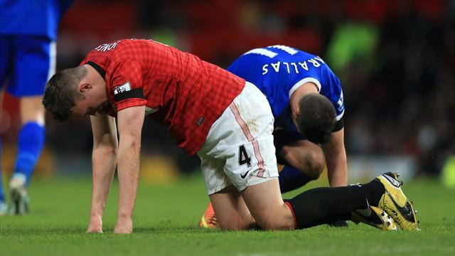 Champions League - Jones travels to Madrid, Scholes stays at home