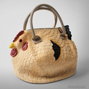 The Original Chicken Handbag; courtesy of Firebox