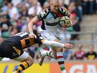 Mike Brown scored a brace as Harlequins edged Wasps at Twickenham